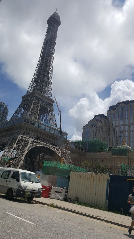 eiffel tower parisian macau
