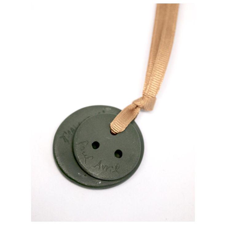 3 Holes Buttons  Ceramic Button atelier shop PAUL AVRIL 폴 아브릴