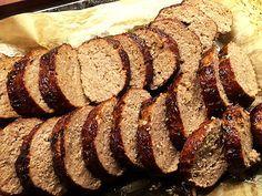 Stadig köttfärslimpa – lätt att skära i fina skivor! – Kryddburken
