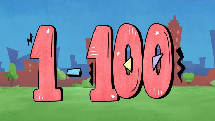 Great video to share for 100's day!