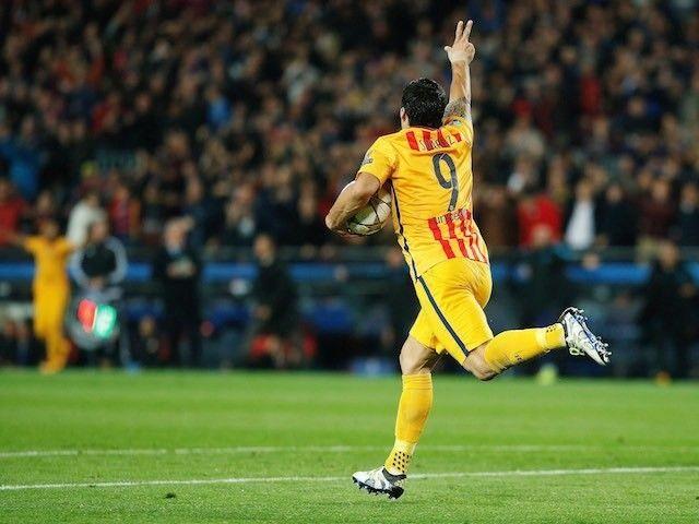Result: Luis Suarez double downs ten-man Atletico Madrid