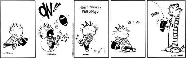 Calvin and Hobbes Comic Strip, October 16, 2013 on GoComics.com