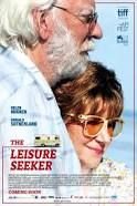 The Leisure Seeker (March 9, 2018) a comedy drama adaptation film directed by Paolo Virzi.  An elderly couple -- to the chagrin of their children -- head off on an impromptu RV trip down Route 66, determined to enter their twilight years on their own terms.  Stars: Helen Mirren, Donald Sutherland, Kirsty Mitchell. Stephen Amidon, Christian McKay, Janel Moloney, Dana Ivey, Dick Gregory, Francesca Archibugi.