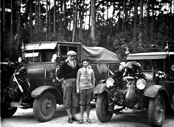 clärenore stinnes & carl-axel söderström, the first people to round the world by car