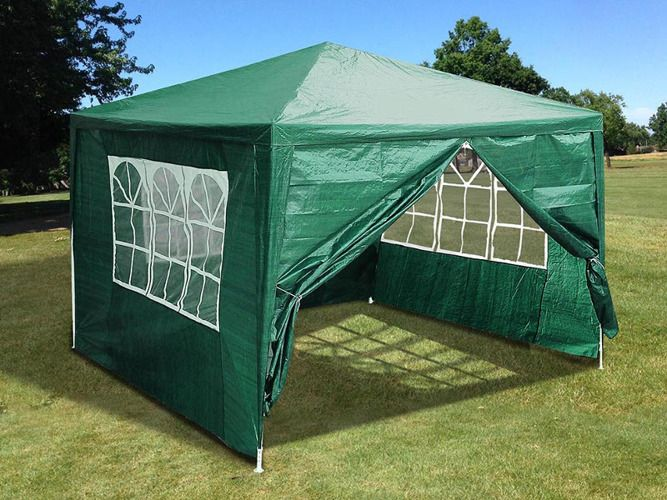 Pawilon Ogrodowy Namiot 3x3 M 4 Scianki Zamykany 7240822700 Oficjalne Archiwum Allegro Canopy Outdoor Outdoor Tent