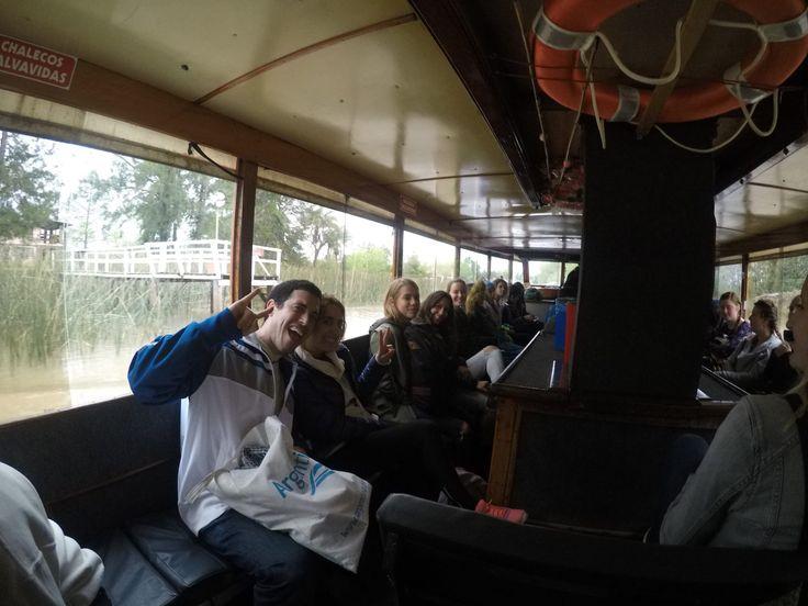 Boat ride in Tigre, Argentina