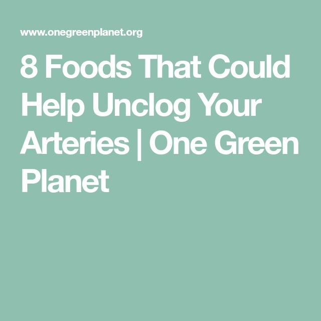 8 Foods That Could Help Unclog Your Arteries | One Green Planet