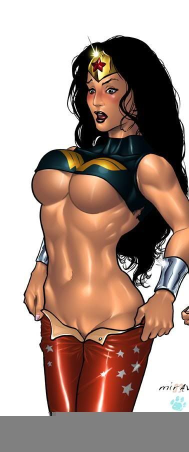 Wonder Woman - OH YAH BABY! WONDER WOMAN CAN LASSOO ME, TIE ME UP AND HAVE THIS AMAZON QUEEN DO HER WONDERS ON ME!