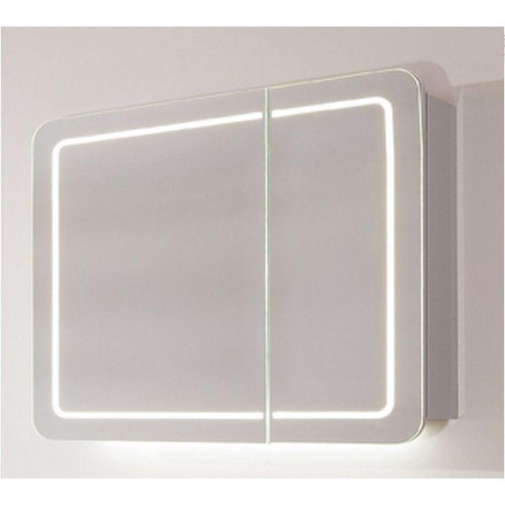 800 X 700 Contea Mirror Cabinet Buy Online at Bathroom City