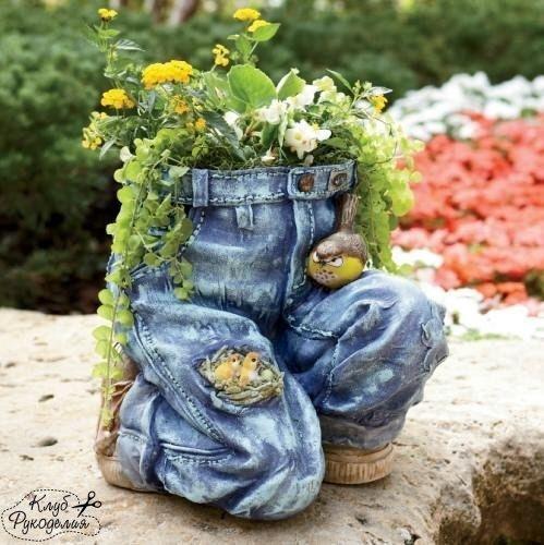 Джинсы во саду ли в огороде