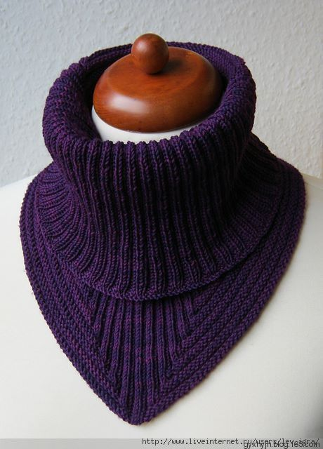 简单时尚脖套 - 悠扬 - 春雨悠扬的编织博客