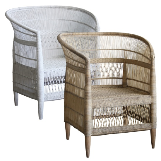 Malawian Cane Chairs Spraypainted In Any Colour From Www