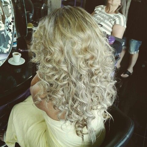 Blond hair & special style