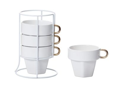 dwell - Cappuccino cups set of 4 - £17.95