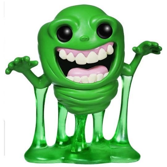 Statuetta decorativa Slimer di #Ghostbusters del brand Funko collezione Pop!. Altezza: 10 cm circa.