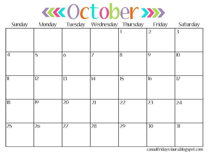 October 2016 Calendar Australia