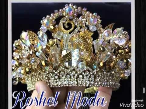 Свадебные короны - YouTube