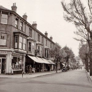 The corner of Regent Street and St Paul's Crescent, Shanklin.