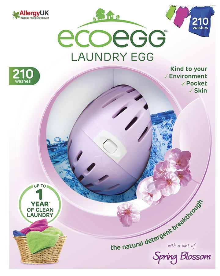 Vajíčko na praní s vůní Jarních květů 210 praní Ecoegg. Využijte dopravu zdarma při nákupu nad 890 Kč nebo výdejní místo zdarma v naší kamenné prodejně NuSpring v Praze.