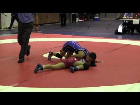 2015 Stu Hart Duals: 47 kg Jacqueline Lew (BC) vs. Sariyah Jones (USA)