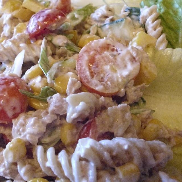 Hairy Biker: Simple Tuna and Sweetcorn Pasta Salad