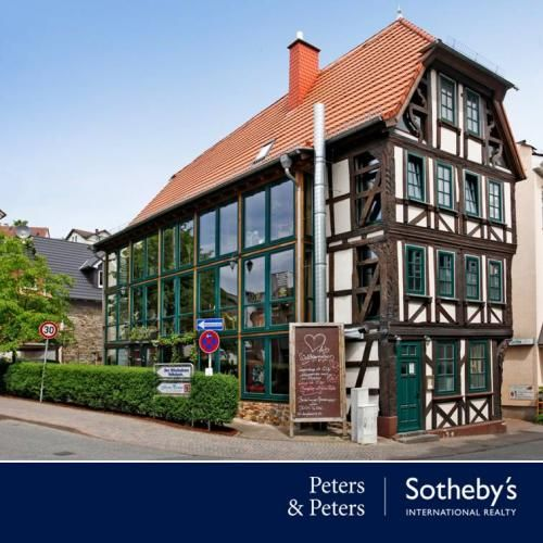 in Wiesbaden | Bad Schwalbach - Glaswerk - Das besondere Fachwerkhaus | Peters & Peters Sotheby's International Realty®