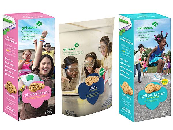 BREAKING NEWS: New Girl Scout Cookies releases two new certified gluten-free Girl Scout cookies #glutenfree