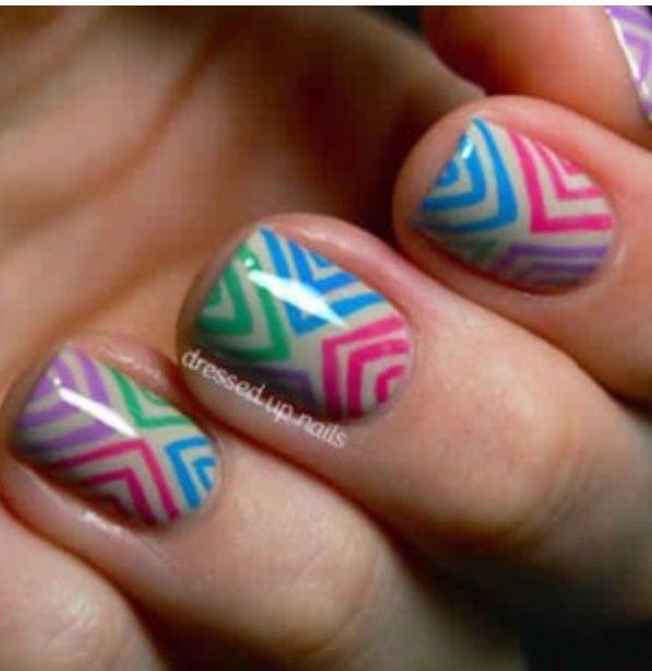 Mejores 22 imágenes de uñas con sharpie en Pinterest | Por fin, Uña ...