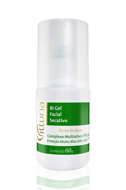 ACNE REDUCE - BI GEL FACIAL SECATIVO FPS 30 | Vitturia
