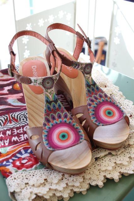 Desigual shoes, sandals, Sweet Annies.