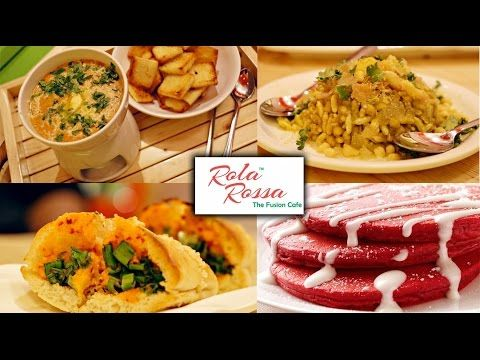 Our Foodistani indulged in some delicious #redvelvetpancakes, #icebhel, #chocolatepasta and a whole lot of other dishes at #RolaRossa.