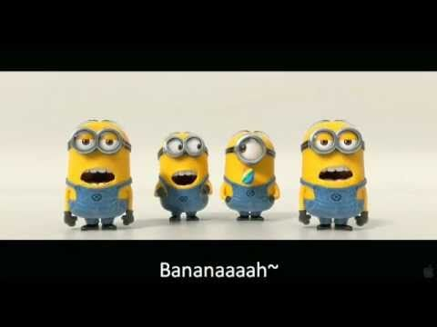 ▶ Banana and Potato Song with Subtitled Lyrics (Despicable Me 2 Trailer) - YouTube --- Use as a brain break!