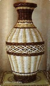 Resultado de imagen para cesteria en papel de revista pinterest BANDEJAS