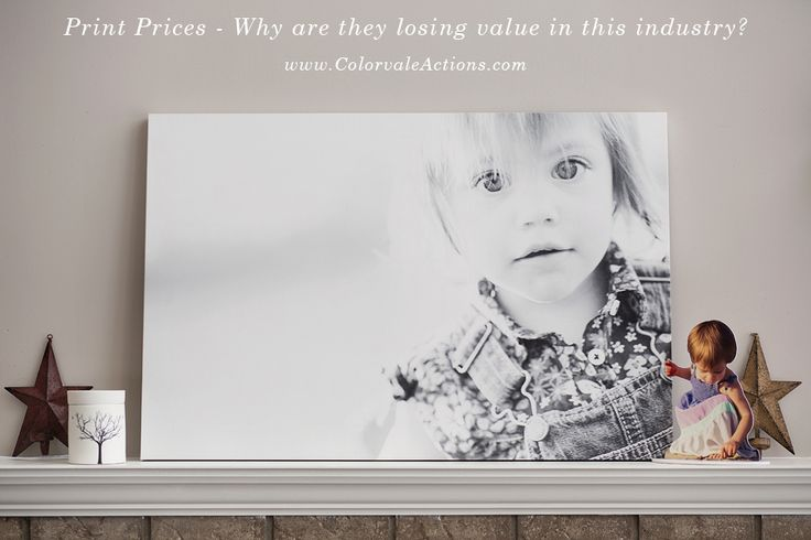 Are you lost at where to set your print prices, because your client says they can run to the corner store and get them at a fraction of the cost? Listen to what other photographers are saying about print pricing. From Colorvale