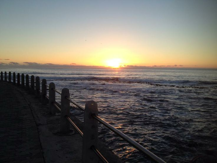 Sunset Sea Point, Cape Town, South Africa
