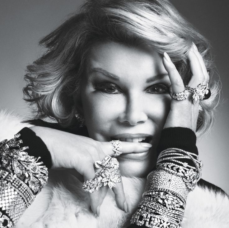 RIP Joan Rivers - Read her final interview with Lynn Hirschberg here.