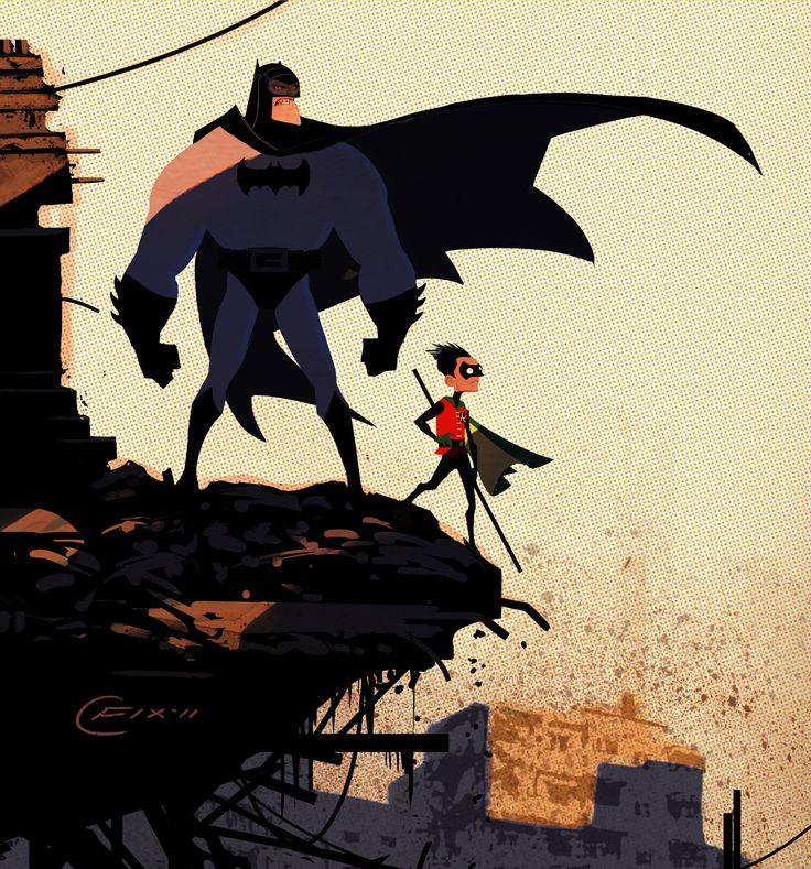 The Dynamic Duo. by Colin FixColin O'Donoghue, Comics Art, Bats, Dc Comics, Dccomics, Illustration, Dynamic Duo, Batman Robin, Superhero