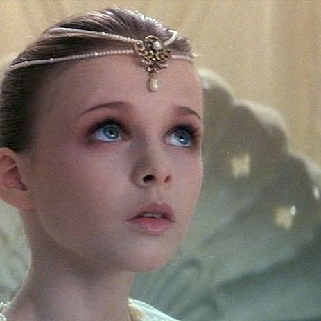 [The child-like empress from The Neverending Story]