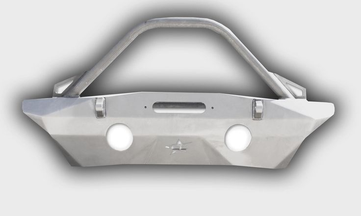 Crawler Conceptz Ultra Series Front Bumper with Recessed Winch Mount With Bar & Tabs