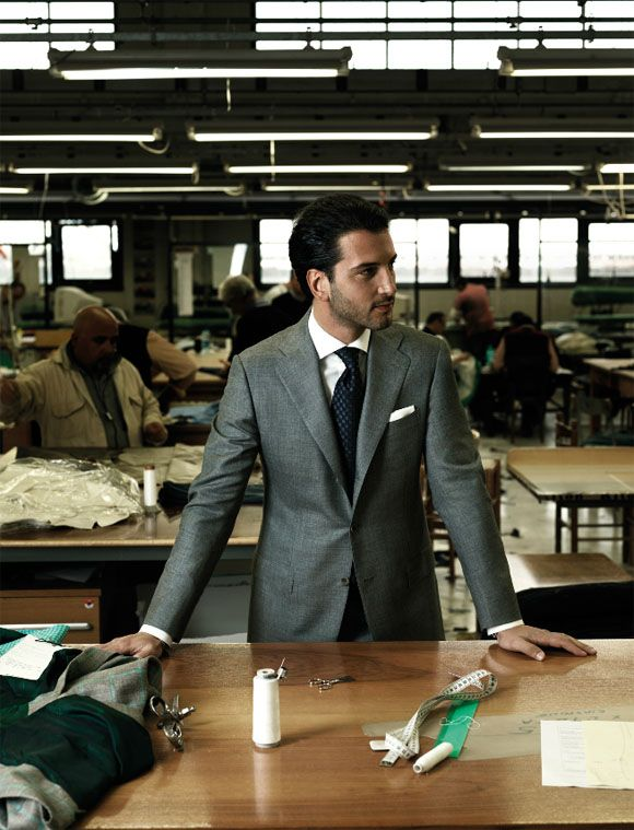 An Italian man should have an Italian suit!  Kiton Italian men's fashion | SOLETOPIA