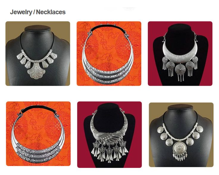 Select 'Visit' to view the catalog of our tribal necklaces