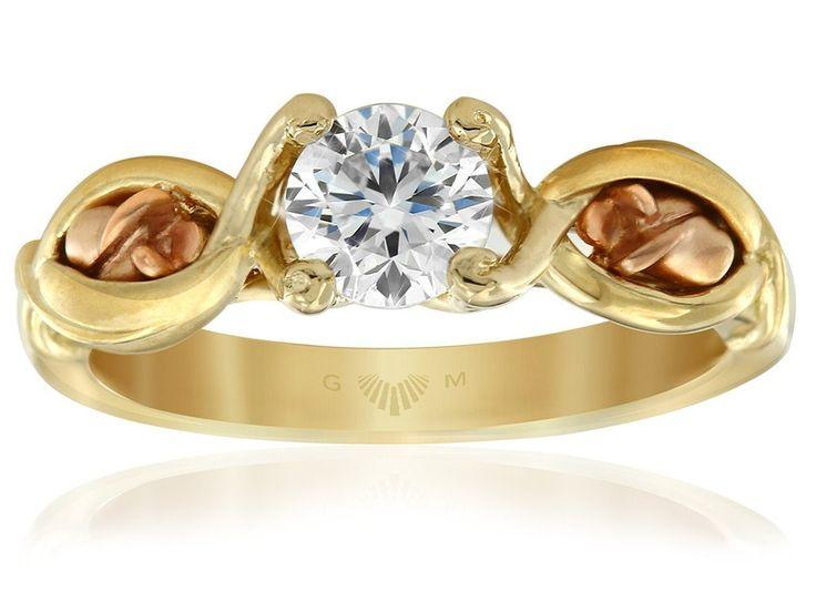 Gerard McCabe Fleur de Lis Engagement Ring