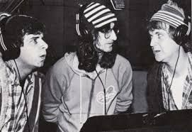 Image result for geddy lee rick moranis dave thomas in studio picture
