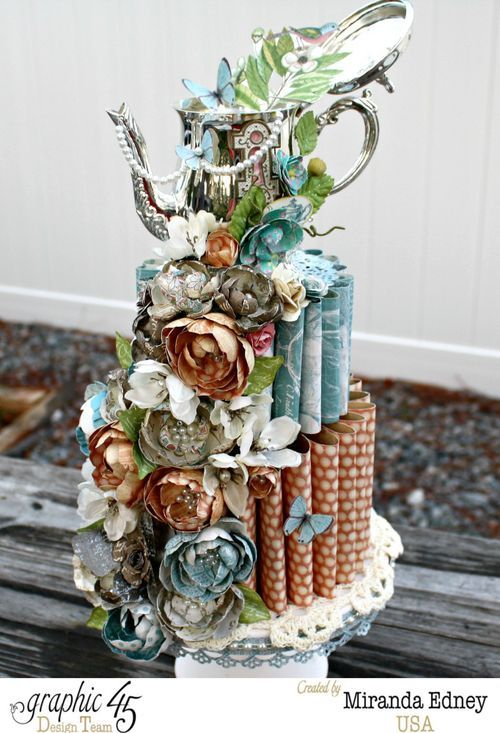 Cake Art Miranda : 1000+ images about Botanical Tea on Pinterest Graphics ...