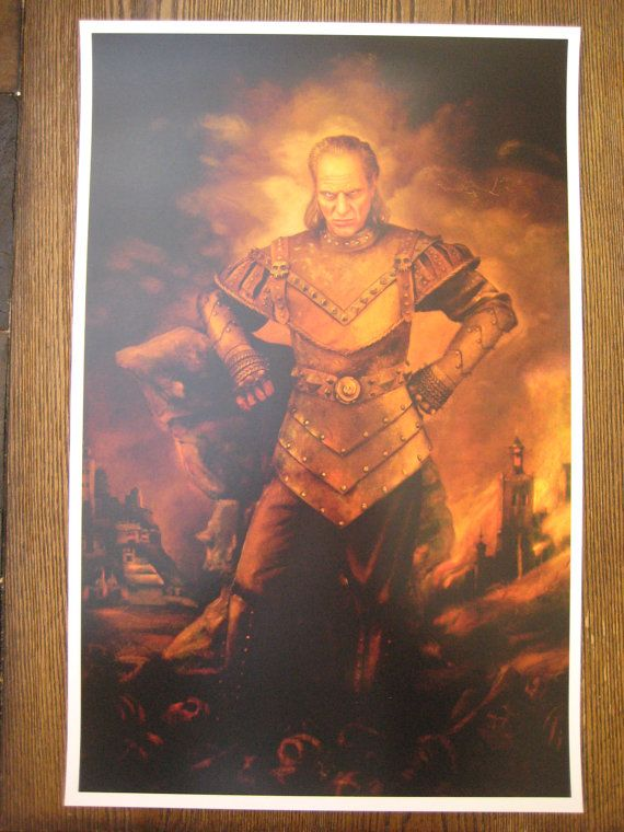 Ghostbusters Vigo the Carpathian Poster Print 11 X by AutismTeddy