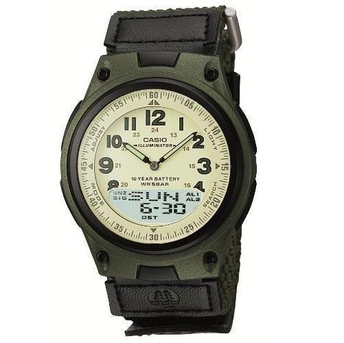 Casio Wrist Watch Auth Standard Analog/digital Combination Aw80v3bjf army JP #CASIO #Military