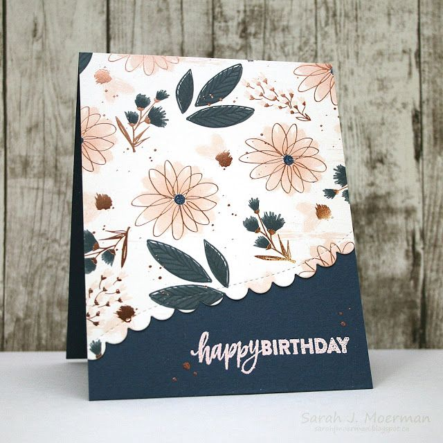 586 best happy birthday cards images on pinterest my impressions simon says stamp card kit adding details to patterned paper bookmarktalkfo Images