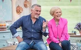 """GREAT BRITISH BAKE OFF - """"It feels very naughty, and I'm enjoying every mouthful"""" – Mary Berry"""