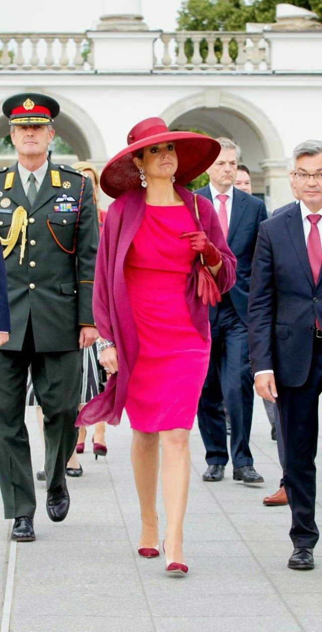 King Willem-Alexander and Queen Maxima Visit Poland - Day 1