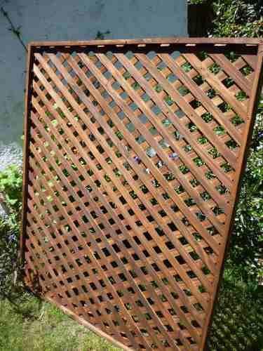 Cerramientos cercas cercos perimetrales madera treillage - Cercas de madera ...